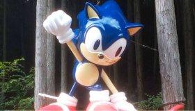 Το μυστηριώδες άγαλμα του Sonic που βρέθηκε στα βουνά της Ιαπωνίας επισκευάστηκε