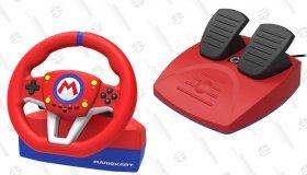 Τιμονιέρα Mario Kart από την Hori