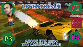 Παίζουμε Rocket League Live
