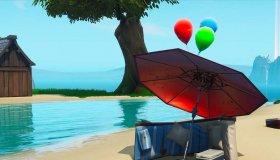 Pop party μπαλόνια στο Fortnite