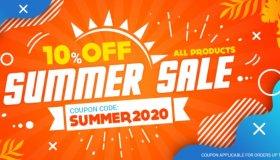 Gamivo Summer Sale 10%: Μεγάλες εκπτώσεις στα games