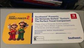 Η Southwest Airlines έδωσε σε όλους τους επιβάτες δωρεάν Nintendo Switch και Super Mario Maker 2