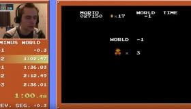 Τερμάτισε το Super Mario Bros. σε δυόμιση λεπτά στον Minus World
