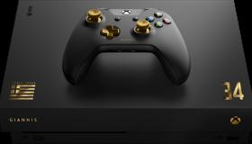 Giannis Antetokounmpo Xbox One X