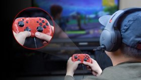 To πρώτο controller του Switch που υποστηρίζει in-game chat