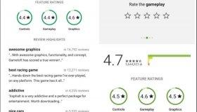 Google Play: Επιμέρους βαθμολογίες στα game reviews