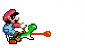 Ο Mario έριχνε γροθιές στον Yoshi στο Super Mario World