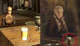 Mod του Skyrim τοποθετεί ποτήρια των Starbucks στα τραπέζια όπως συνέβη στο Game of Thrones
