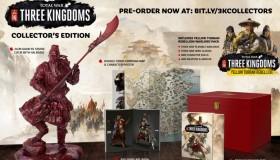 Total War: Three Kingdoms: Ημερομηνία κυκλοφορίας και Collector's Edition