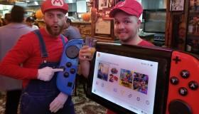 Αμερικάνος ντύθηκε Nintendo Switch για το Halloween