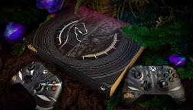 Xbox One X στα χρώματα του Black Panther