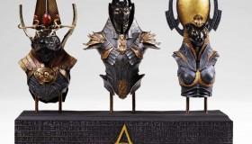 Συλλεκτικά αγαλματίδια με τους θεούς του Assassin's Creed Origins