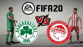 Παίζουμε FIFA 20: Παναθηναϊκός - Ολυμπιακός