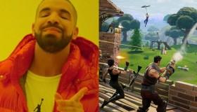 Ο Drake ετοιμάζει ραπ κομμάτι για το Fortnite