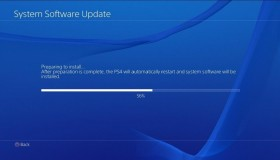 PS4 Firmware update v6.0