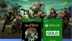 Διαγωνισμός για 3 Sea of Thieves με Xbox Live Gold