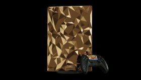 PS5 Gold Special Limited Luxury Edition με χρυσό 24 καρατίων