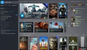 Αλλαγή στην δομή του Steam Library
