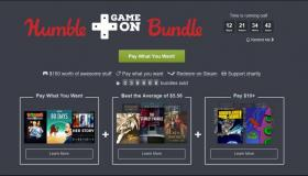 Humble GameOn Bundle