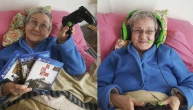82χρονη γιαγιά είναι φανατική gamer
