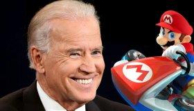 O Joe Biden κέρδισε την εγγονή του στο Mario Kart Arcade GP DX