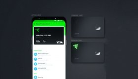 Η Razer έφτιαξε μία πιστωτική κάρτα για gamers με φωτισμό LED