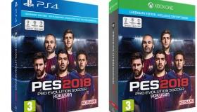 Pro Evolution Soccer 2018: Τιμές, Legendary Edition και pre-order bonus